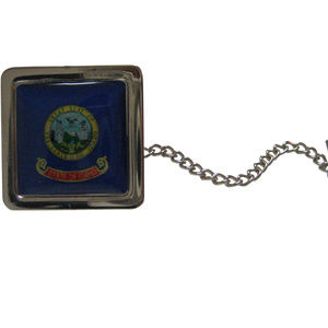 Idaho Flag Design Tie Tack